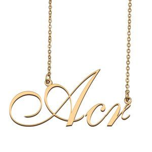 Custom Personalized Acr Name Necklace